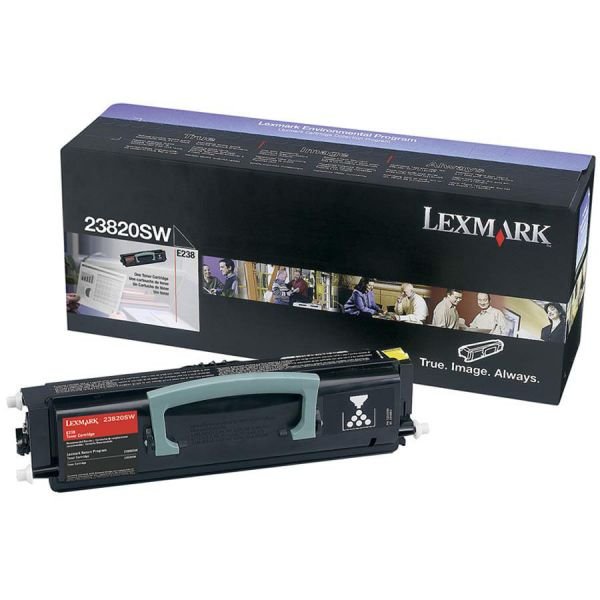 Lexmark 23820SW Black Toner Cartridge