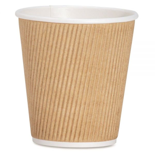 Genuine Joe Ripple 10 oz Coffee Cups