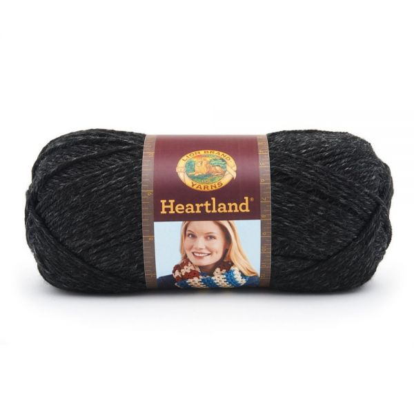 Lion Brand Heartland Yarn - Black Canyon