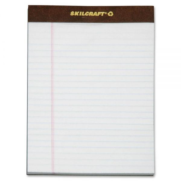 SKILCRAFT Junior Legal Pads