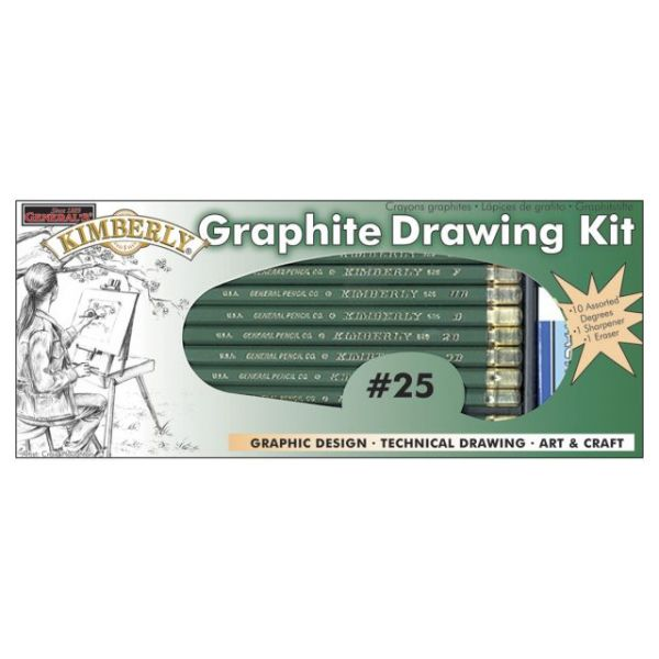 Kimberly Graphite Drawing Kit 12pcs