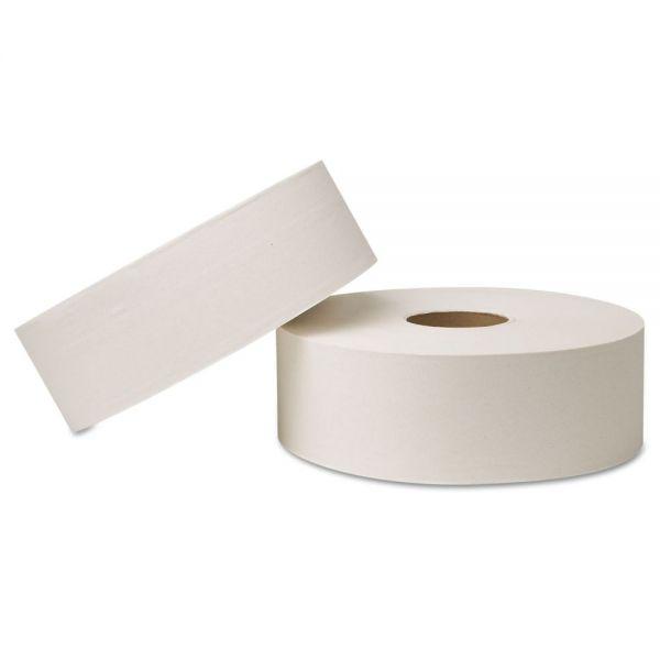 Wausau Paper EcoSoft Jumbo Universal Bathroom Tissue, 2-Ply, 2000 Sheets/Roll