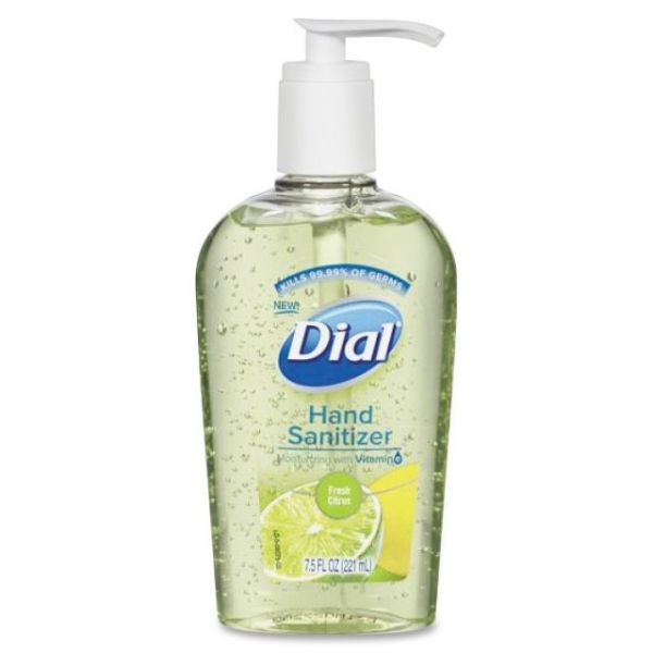 Dial Gel Hand Sanitizer