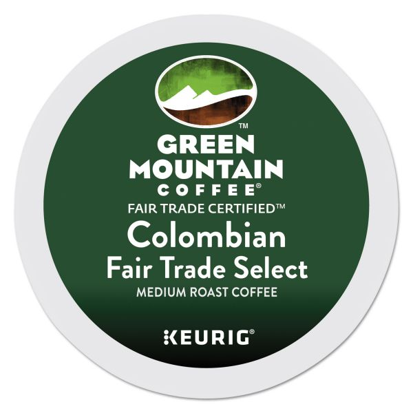 Green Mountain Coffee Colombian Fair Trade Select Coffee K-Cups