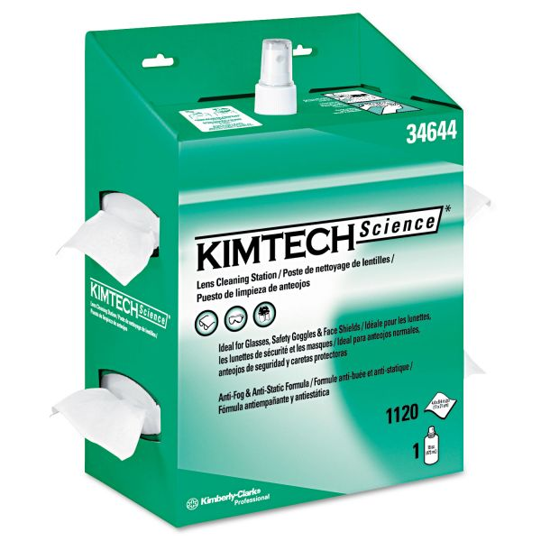 Kimtech Science Kimwipes Lens Cleaning Station