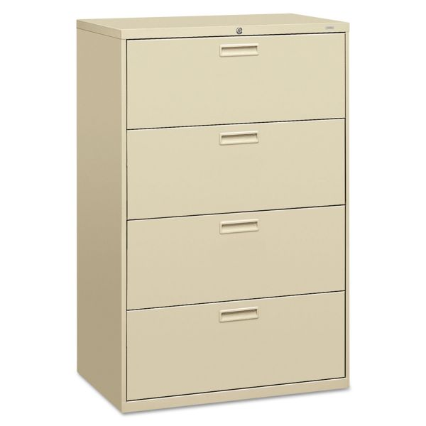"HON Brigade 500 Series Lateral File | 4 Drawers | 36""W"