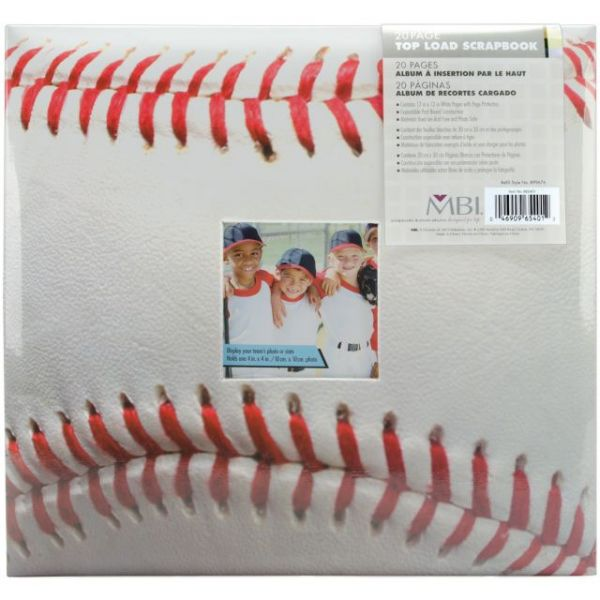 "Sport & Hobby Post Bound Album 12""X12"""