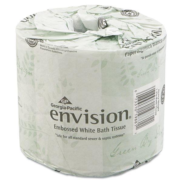 Georgia Pacific Professional Bathroom Tissue, 550 Sheets/Roll, 80 Rolls/Carton