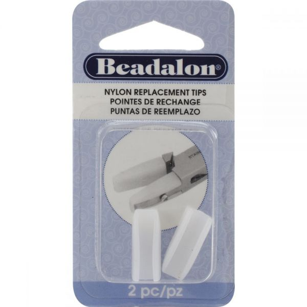 Beadalon Nylon Flat Nose Pliers Replacement Tips