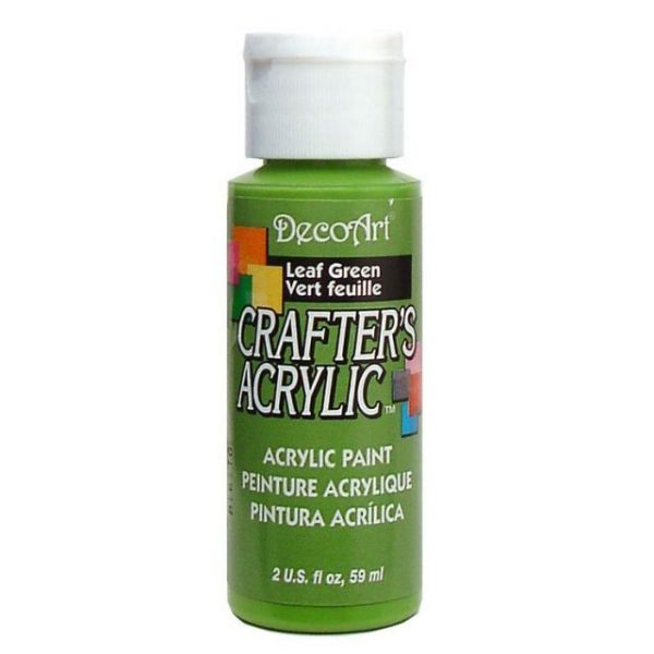 Deco Art Leaf Green Crafter's Acrylic Paint