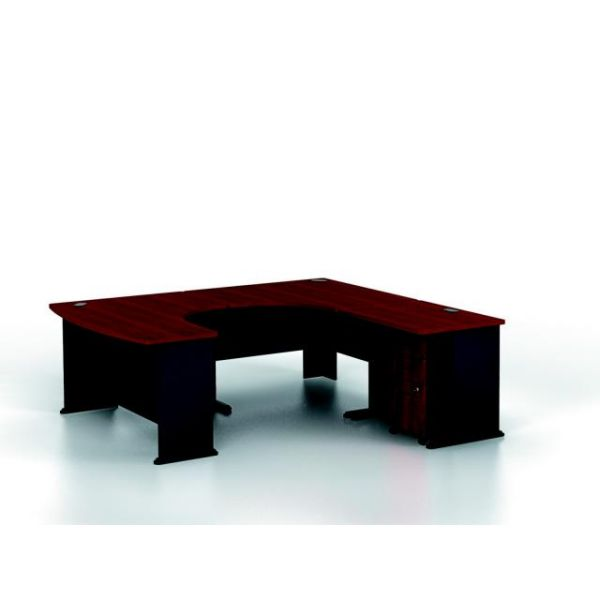 bbf Series A Professional Configuration - Hansen Cherry finish by Bush Furniture