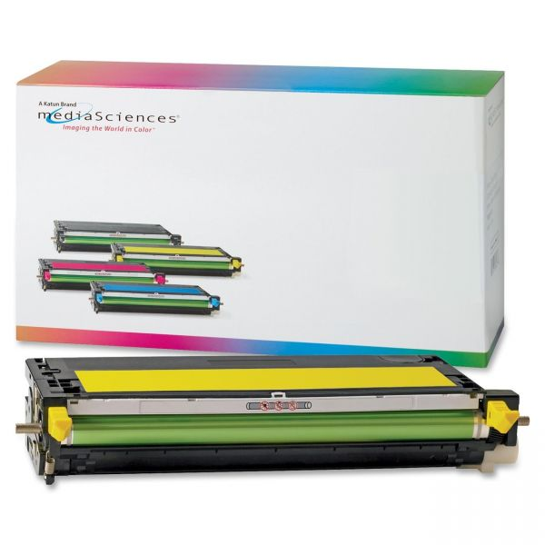 Media Sciences Remanufactured Dell 310-8099 Yellow Toner Cartridge