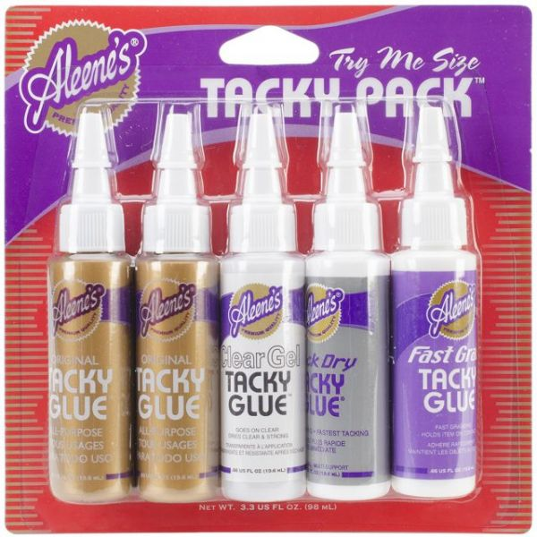 Aleene's Trial Tacky Glue Pack