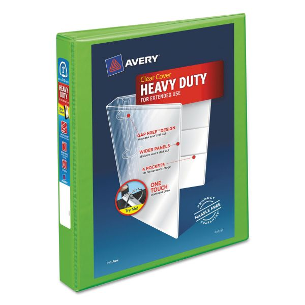 "Avery Heavy-Duty 1"" 3-Ring View Binder"