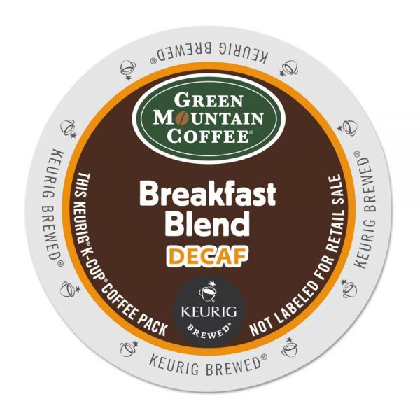 Green Mountain Coffee Decaf Variety Coffee K-Cups, 88/Carton
