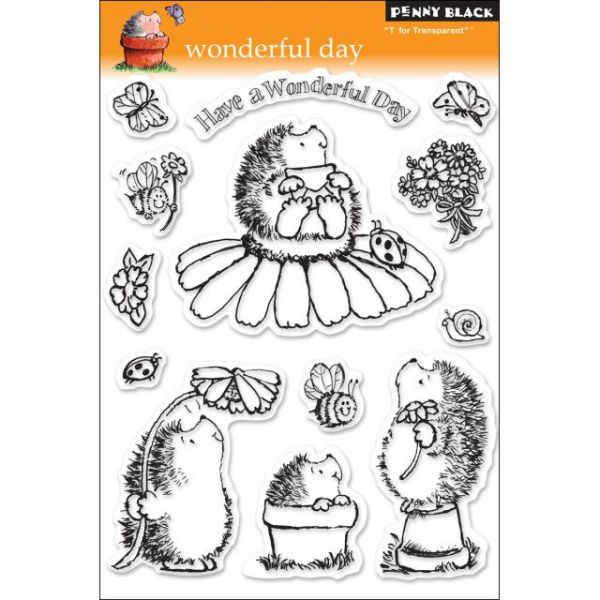 """Penny Black Clear Stamps 5""""X7.5"""" Sheet"""