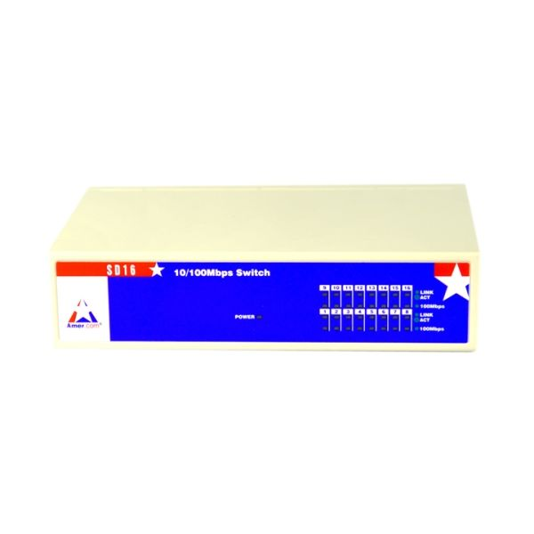 Amer SD16 Ethernet Switch