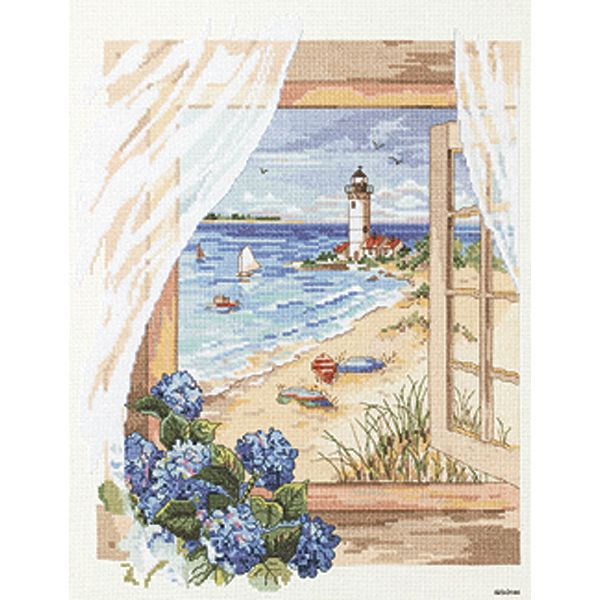 View From The Window Counted Cross Stitch Kit