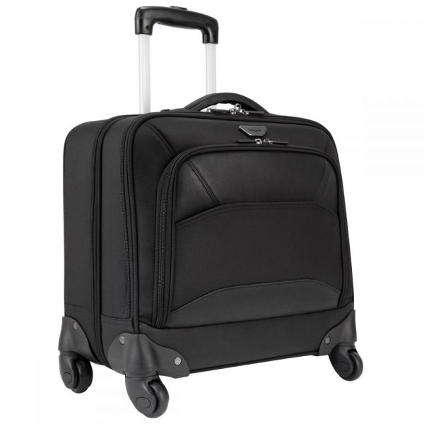 "Targus Overnight PBR022 Carrying Case (Roller) for 15.6"" Notebook - Black"