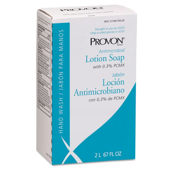 PROVON NXT Antimicrobial Lotion Soap Refills with Chloroxylenol