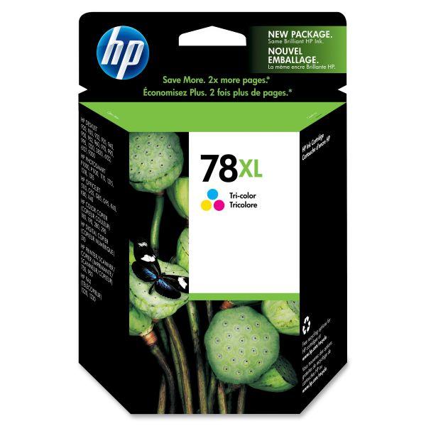 HP 78XL Tri-Color High Yield Ink Cartridge (C6578AN)