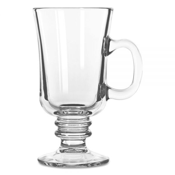 Libbey Warm Beverage Drinking Glasses, Irish Coffee, 8-1/2oz., 5-7/8 In Height, 24/CT