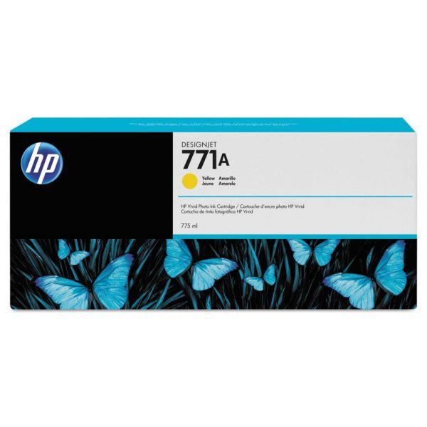 HP 771 Yellow Ink Cartridge (B6Y18A)