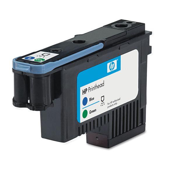 HP 70, (C9408A) Blue/Green Printhead
