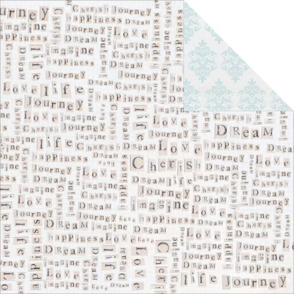 True Romance Double-Sided Cardstock
