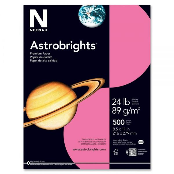 Astrobrights Colored Paper - Plasma Pink