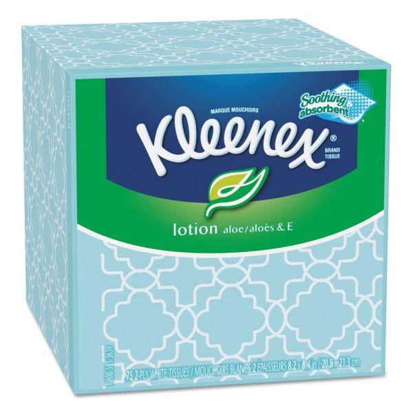 Kleenex Lotion 3-Ply Facial Tissues