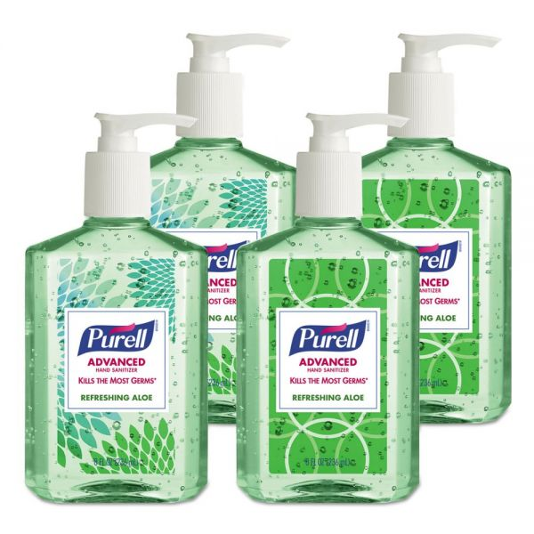 PURELL Advanced Instant Hand Sanitizers with Aloe