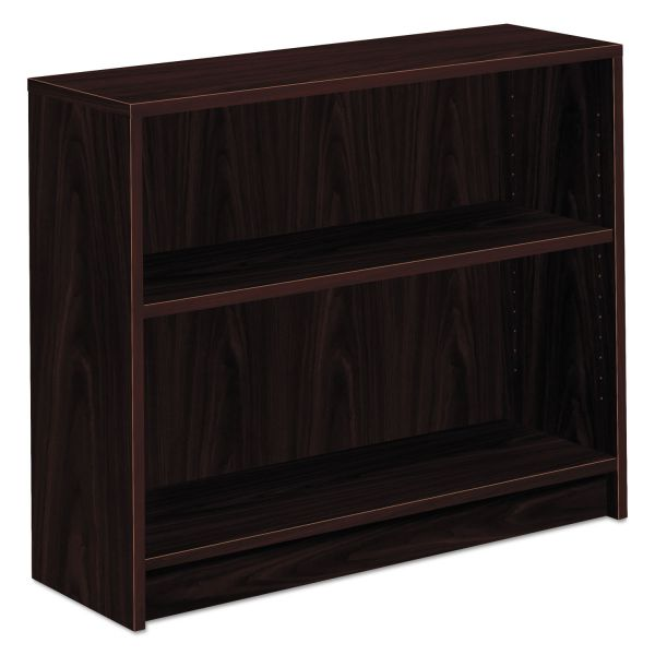 HON 1870 Series 2-Shelf Laminate Bookcase