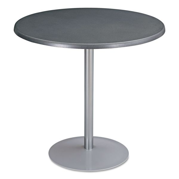 "Safco Entourage Table Top, Round, 32"" Diameter, Anthracite"