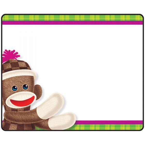 Trend Sock Monkeys Terrific Labels