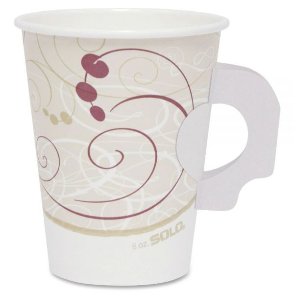 Solo Poly Lined 8 oz Paper Coffee Cups