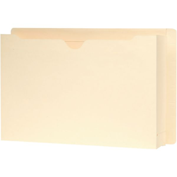 Smead Recycled End Tab File Jackets