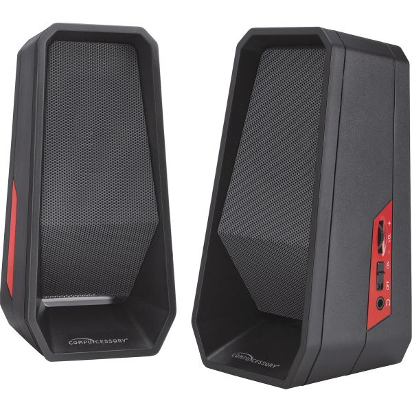 Compucessory Speaker System - 4 W RMS - Black