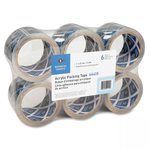 "Business Source Heavy Duty 3"" Packing Tape"