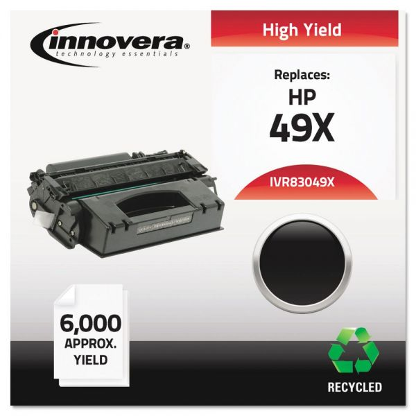 Innovera Remanufactured HP Q5949X High Yield Toner Cartridge