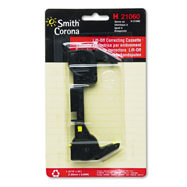 Smith Corona H Series Lift Off Correcting Tape