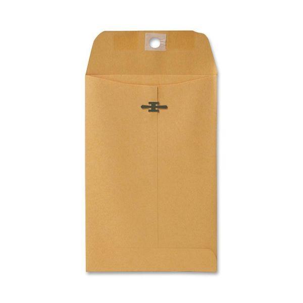 "Sparco Gummed 5"" x 7 1/2"" Clasp Envelopes"