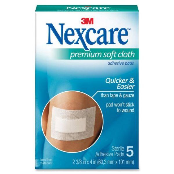 Nexcare Premium Soft Cloth Adhesive Pads