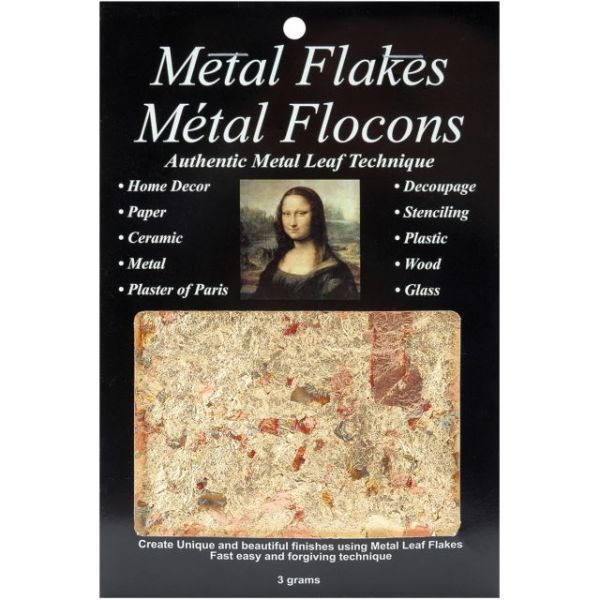Mona Lisa Metal Leaf Flakes 3g