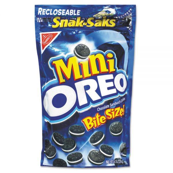Nabisco Mini Oreo Bite Size Snacks