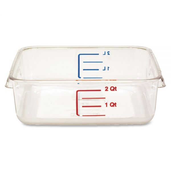 Rubbermaid Space Saving Square Container