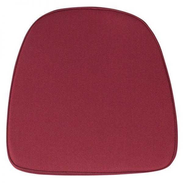 Flash Furniture Soft Burgundy Fabric Chiavari Chair Cushion