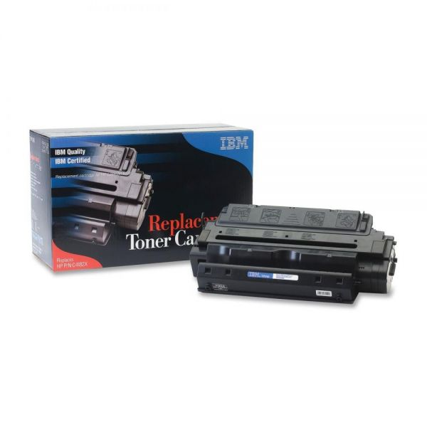 IBM Remanufactured HP C4182X Black Toner Cartridge