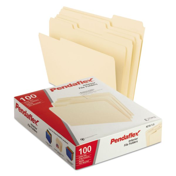 Pendaflex Interior Manila File Folders