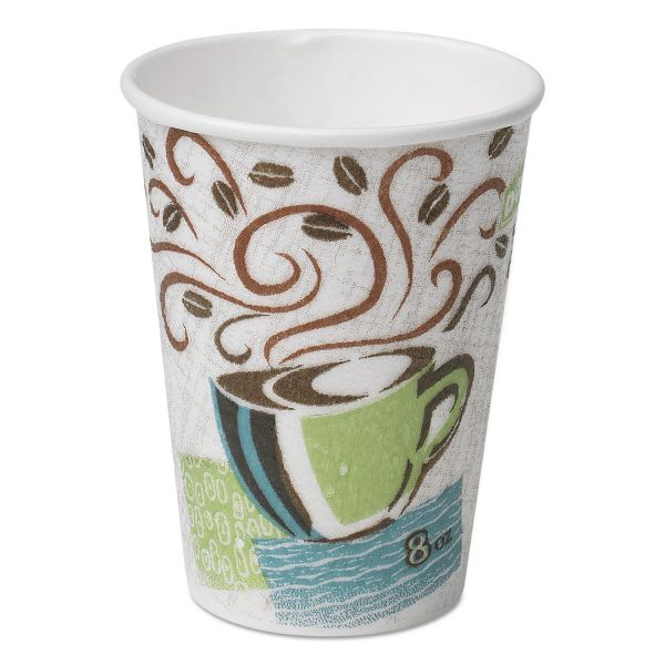 Dixie 8 oz Paper Coffee Cups